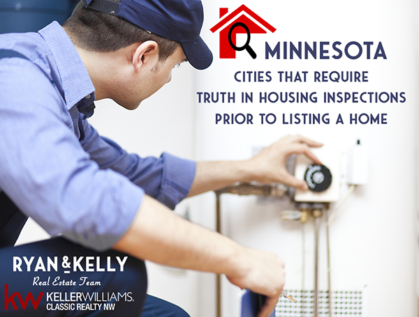 Minnesota Cities That Require Truth In Housing Inspections – Reports Prior To Listing A Home